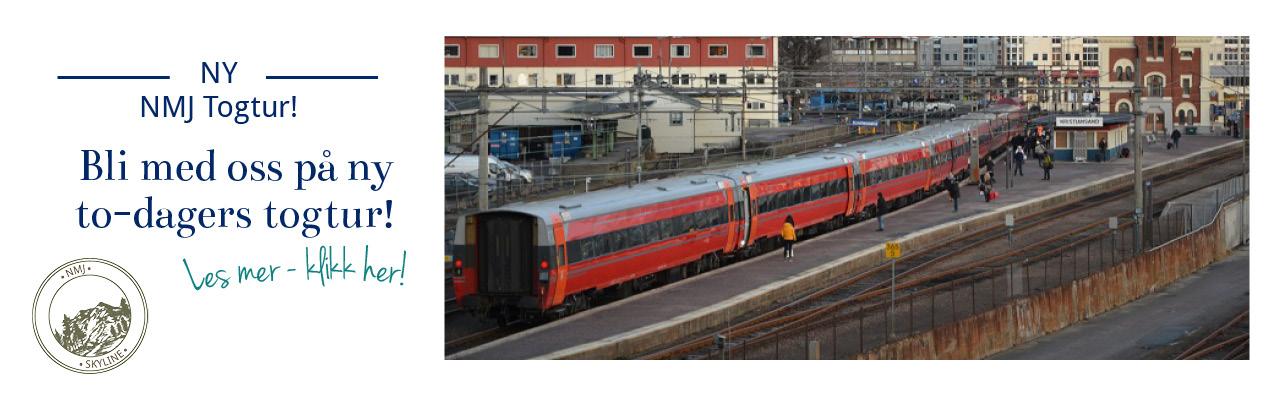 Ny togtur med NMJ til Setesdalsbanen og Kristiansand - 3. og 4. September!