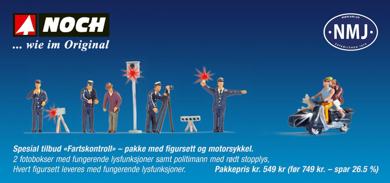 NMJ / Noch kampanje - figurer med lyseffekter - Kampanje