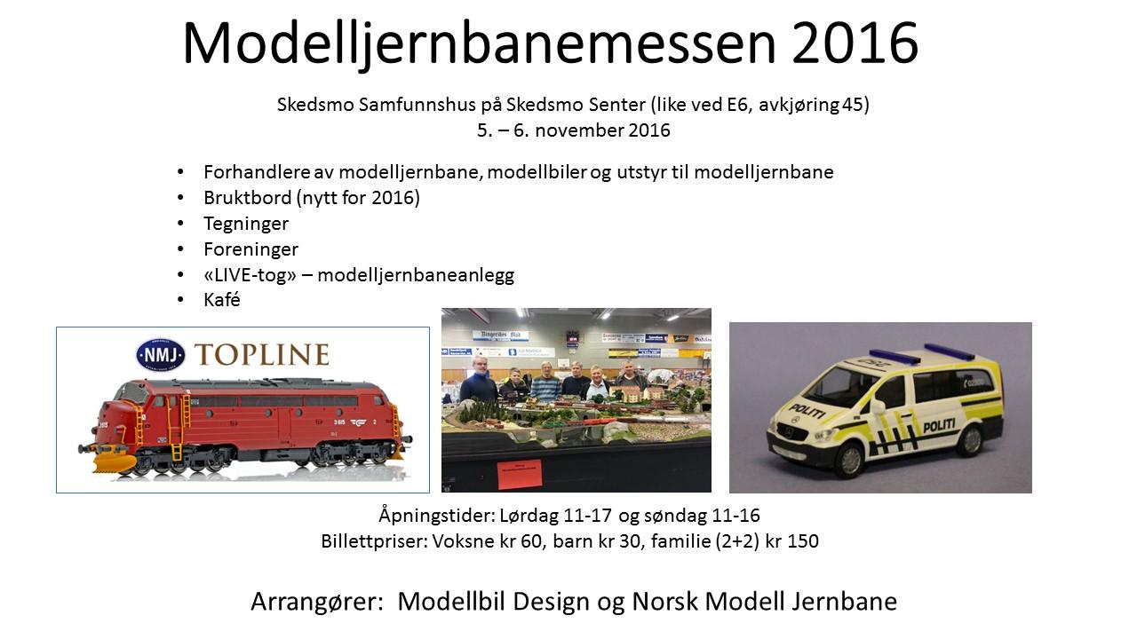 Modelljernbane messen 2016