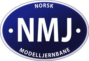 NMJ - Norsk Modelljernbane Logo