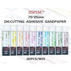 Verktøy, dspiae-wsp1500-die-cutting-adhesive-sandpaper-grit-1500, DSPWSP1500