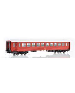 Topline Personvogner, NMJ Topline NSB B3K 25659 2. Class passenger coach in the intermediate design., NMJT106.201