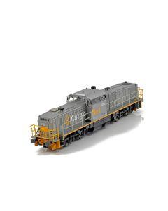Topline Lokomotiver, NMJ Topline of CargoNet Di8.707 in silver/yellow livery, AC Analog., NMJT85.201AC