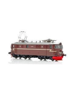 Topline Lokomotiver, NMJ Topline model of the NSB El 11b.2148 in the red/brown livery, with 2 front windows and gitter, AC Digital.