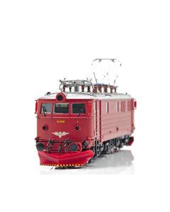 Topline Lokomotiver, NMJ Topline model of the NSB El 13.2139 in red/silver livery (Intermediate design). Original ventilators, NMJT82.303
