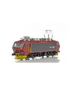 Topline Lokomotiver, NMJ Topline model of the NSB EL17.2231  in new design red/black livery, DC. , NMJT80.203