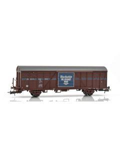 """Topline Godsvogner, NMJ Topline model of the NSB Gbs 150 0 230-0, """"Adresseavisen"""", NMJT506.304"""