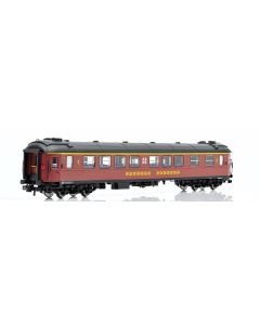 Topline Personvogner, NMJ Topline model of SJ A2FGR 4976 1 Cl. Passenger coach, Inter City version., NMJT201.201