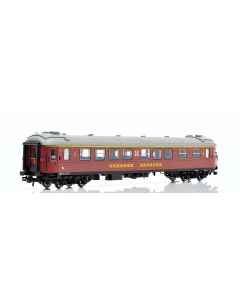 Topline Personvogner, NMJ Topline model of SJ A2G 5148 4976 1 Cl. Passenger coach, Inter City version., NMJT201.202