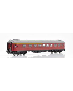 Topline Personvogner, NMJ Topline Model of the SJ AB3 in the brown livery with the white new logo from ca 1980., NMJT203.101