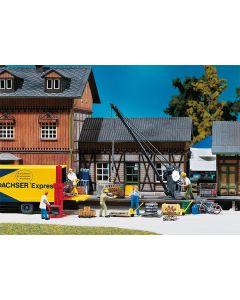 Stasjoner og jernbanebygninger (Faller), , FAL120129