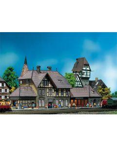 Stasjoner og jernbanebygninger (Faller), , FAL212111