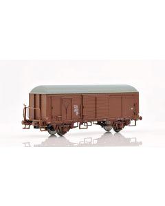 Topline Godsvogner,  NMJ Topline model of the NSB G5 44252 boxcar type 3 with fiberglass roof and brakeman`s platform, NMJT504.303