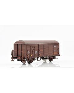 Topline Godsvogner, NMJ Topline model of the NSB His 210 2 222-7 boxcar type 3 with fiberglass roof and brakeman`s platform, NMJT504.302