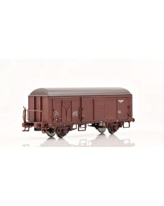Topline Godsvogner, NMJ Topline model of the NSB His 210 2 269-8 boxcar type 3 with fiberglass roof and brakeman`s platform, NMJT504.301