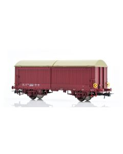 Topline Godsvogner, NMJ Topline model of the NSB His 210 2 773-9 boxcar type 5 with steel walls, fiberglass roof and brake wheels, NMJT504.501