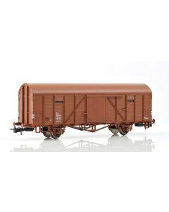 Topline Godsvogner, NMJ Topline model of the SJ Gbl 108 5 201-7 box car with emergency brakes., NMJT603.301