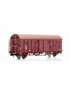 Topline Godsvogner, NMJ Topline model of the SJ Gbls-u 156 4 519-0 box car with UIC number, NMJT604.101