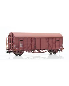 Topline Godsvogner, NMJ Topline model of the SJ Gbls-u 156 6 143-8 box car with brakeman`s platform and end wall opening., NMJT604.102