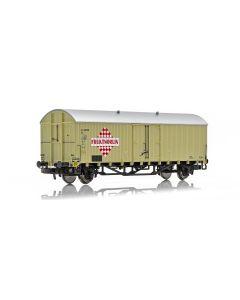 """Topline Godsvogner, NMJ Topline model of the SJ Grf 45002 FRUKTNORLIN"""" refrigerator car., NMJT605.313"""