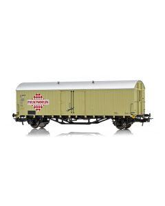 """Topline Godsvogner, NMJ Topline model of the SJ Grf 45016 """"FRUKTNORLIN"""" refrigerator car., NMJT605.312"""