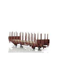 Topline Godsvogner, NMJ Topline model of the SJ Kbps 21 74 370 4 099-4 stake car., NMJT602.106
