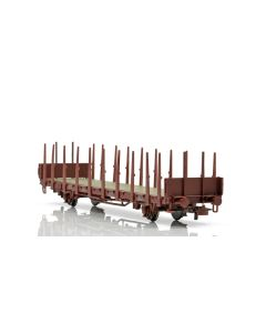Topline Godsvogner, NMJ Topline model of the SJ Kbps 21 74 370 4 099-4 stake car., NMJT602.106