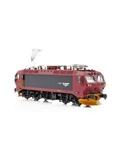 Topline Lokomotiver, NMJ Topline NSB EL17.2222, AC, Series 1, redbrown/black livery, NMJT80.102AC