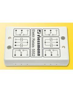 Trykkpaneler, relér etc, Elektronisk relè, dobbel, VIE5552