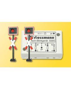 Signaler, Andreaskors med lys, 2 Stk, VIE5060