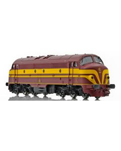 Digital, NMJ Topline model of the CFL 1601 DCC Sound version from 1956-1971 with original logo and two frontlamps., ESU58419