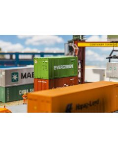 Vognlaster og containere, 20' Container EVERGREEN, FAL180821