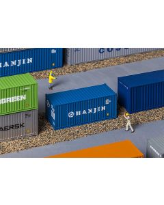 Vognlaster og containere, 20' Container HANJIN, FAL180825