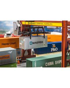 Vognlaster og containere, 20' Container MAERSK, FAL180820