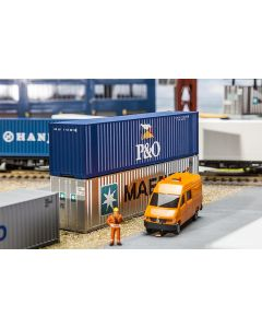 Vognlaster og containere, 40' Hi-Cube Container P&O, FAL180843