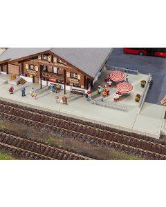 Stasjoner og jernbanebygninger (Faller), , FAL120206