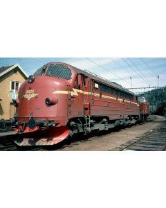 Topline Lokomotiver, nmj-topline-245002-nsb-di3a-622-dcc-sound, O-Gauge, 1:45, NMJT245002