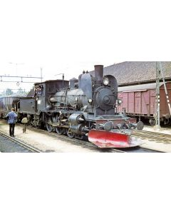 Superline Lokomotiver, nmj-superline-nsb-damplok-type21e-207-21e207, NMJS21e207