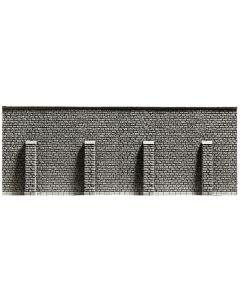 Tunneler, Støttemurer m.m., Stützmauer, 33,4 x 12,5 cm, NOC58056