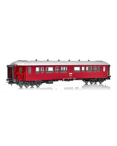 Topline Personvogner, NMJ Topline passenger coach NSB B3-2 type 3 25510, ex B2 with flat sides in the intermediate design of NSB., NMJT130.201