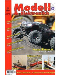 Blader, Modell & Elektronikk 3/2017, Teknisk Hobbyblad, MOE0317