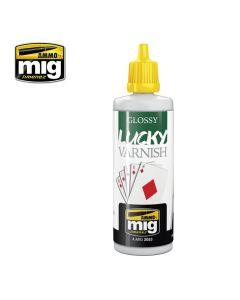 Mig Akrylmaling, ammo-by-mig-jimenez-2052-glossy-lucky-varnish-60-ml, MIG2053