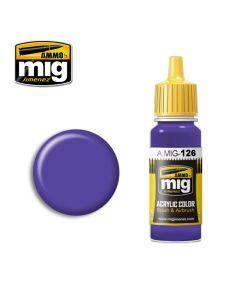 Mig Akrylmaling, ammo-by-mig-jimenez-0126-violet-acrylic-paint-17-ml, MIG0126