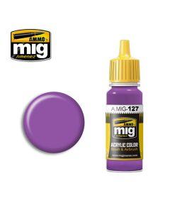 Mig Akrylmaling, ammo-by-mig-jimenez-0127-purple-acrylic-paint-17-ml, MIG0127