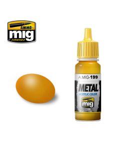 Mig Akrylmaling, ammo-by-mig-jimenez-0189-orange-metallic-metal-acrylics-17-ml, MIG0189