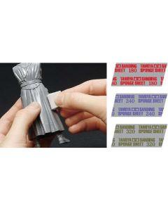 Verktøy, tamiya-87162-sanding-sponge-sheet-240, TAM87162