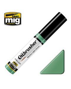Mig, Ammo-by-Mig-Jimenez-mig3529-mecha-light-green-oilbrusher, MIG3529