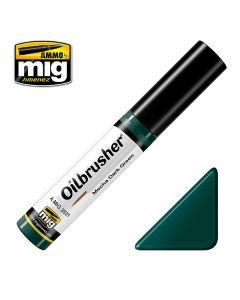 Mig, Ammo-by-Mig-Jimenez-mig3531-mecha-dark-green-oilbrusher, MIG3531
