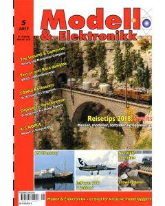 Blader, Modell & Elektronikk 5/2017, Teknisk Hobbyblad, MOE0517