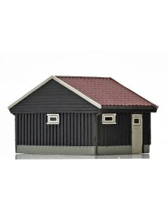 Skyline Ready Made, nmj-skyline-norwegian-garage-brown-white, NMJH15120